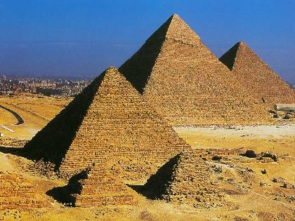 Visiting Pyramids of Giza & Great Sphinx
