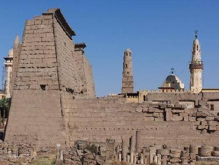 Luxor Temple and Abul Hagag Mosque
