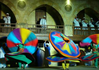 El Tannoura Show Egyptian Heritage Dance Troupe at Wekalet El Ghoury